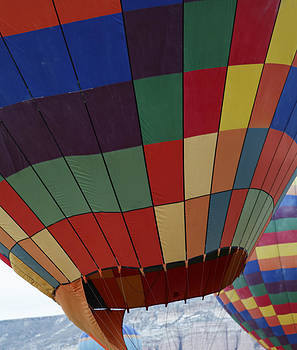Kantilal Patel - Texture two Hot Air Balloons