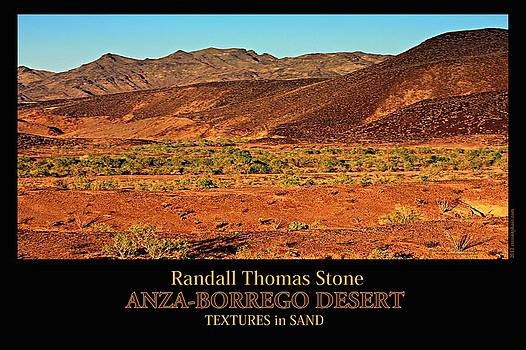 Randall Thomas Stone - Textures in Sand - Shades of Red