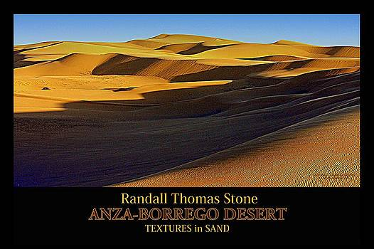 Randall Thomas Stone - Textures in Sand - Shifting Sands II