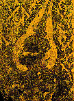 Thai art patterns by Kanoksak Detboon