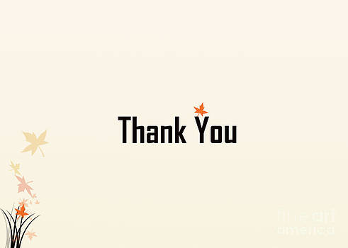Thank You #6 by Trilby Cole