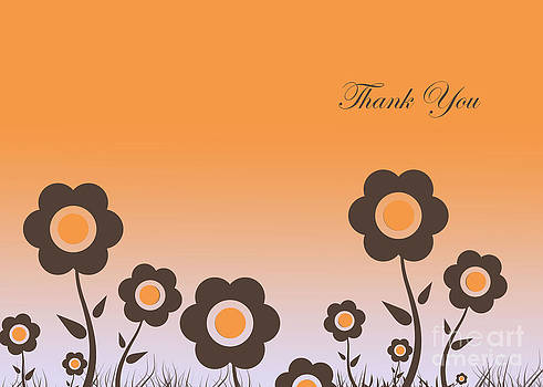 Thank You Card #3 by Trilby Cole