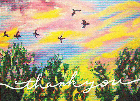 Thank you card by Ann Whitfield