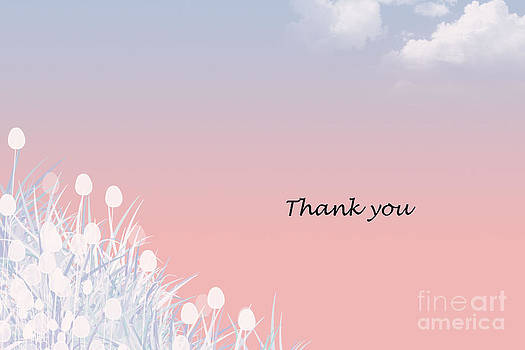 Thank you Card by Trilby Cole