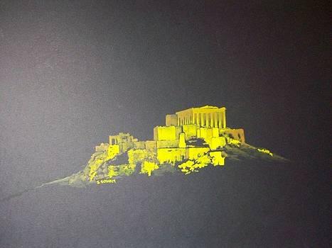 The Acropolis by Samir Sokhn