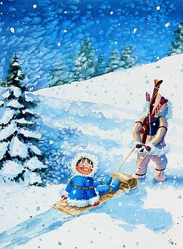 Hanne Lore Koehler - The Aerial Skier - 1