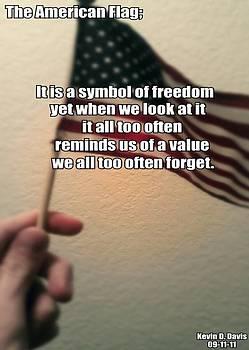 Kevin D Davis - The American Flag