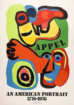 The American Portrait by Karel Appel