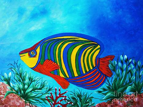 The Angelfish by Iris  Mora