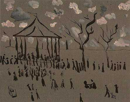 The bandstand by Peter  McPartlin