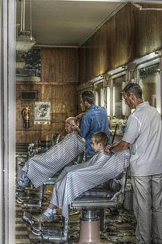 The Barber Shop by Eric Crews