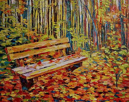 The bench by Keren Gorzhaltsan