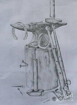 The Blacksmith I by Christopher Keeler Doolin