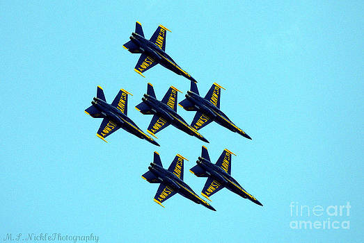 The Blue Angles by Melissa Nickle