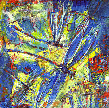 Nato  Gomes - The blue dragonfly