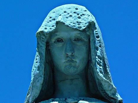 The Bluish Virgin by Sabrina Vera