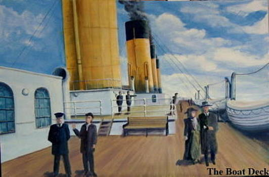 The Boat Deck by Thomas Hinkle