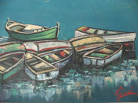 The Boats by Vignari