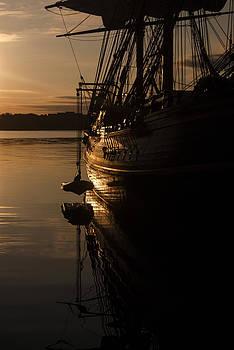 The Bounty at Sunrise by Nancy Killam