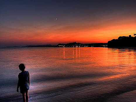 The Boy and the Sea by Stamatis Gr