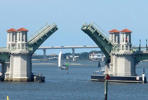 The Bridge of Lions is Open by Warren Clark