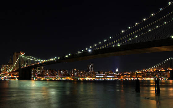 The Bridges of Kings County...Brooklyn by Dave Sribnik