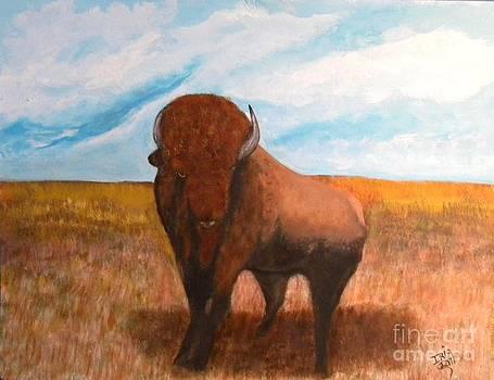 The Buffalo by Iris  Mora