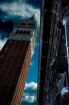 The Campanile in Venice by Tim Kahane