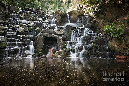 The Cascade at Virginia Water by Donald Davis