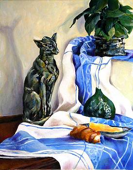 The Cat and the Cloth by Jolante Hesse