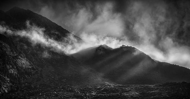 The Chancel in Black and White by Andy Astbury