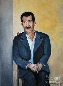 The Cigarette by Kostas Koutsoukanidis