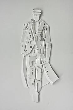 The City Behind the Man by Irina  Pogossov