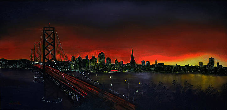 The City By The Bay by Jamil Alkhoury