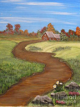 The Country Barn by Jody Curran