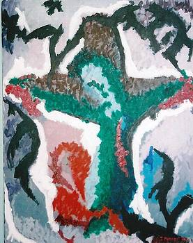 The Crucifixion by Terry Forrest