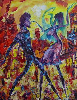 The dance by Avi Gorzhaltsan