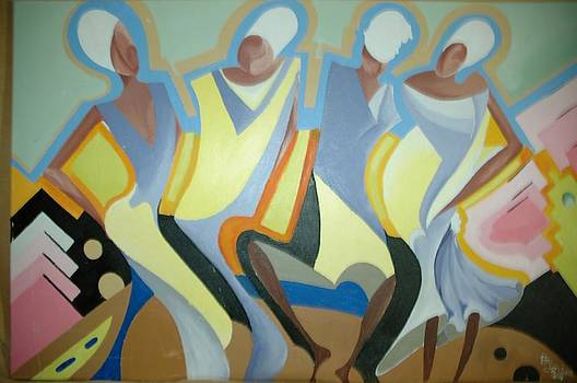 The Dance by Cyril Donkor
