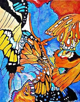 The dance of the Butterflies by Sandra Lira