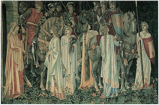 Edward Burne-Jones - The Departure of the Knights