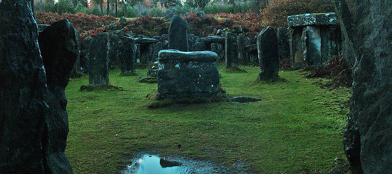The Druids Temple at Ilton by Steve Watson