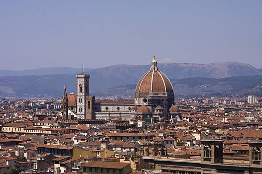 The Duomo Florence by Trevor Buchanan