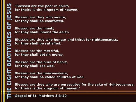 Ricky Jarnagin - THE EIGHT BEATITUDES OF JESUS
