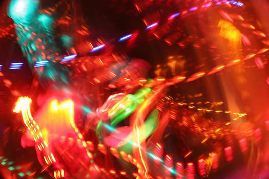 The Electric Cosmos      Nebula Traffic Jam by Artist Orange
