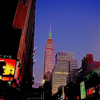 The Empire State Building Still Stands Tall by Don Struke