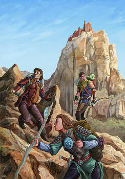 The Explorers color by Storn Cook