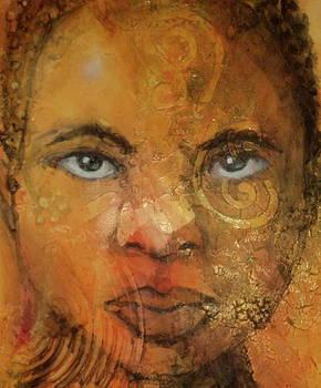 The Eyes Close- Up by Otis  Cobb