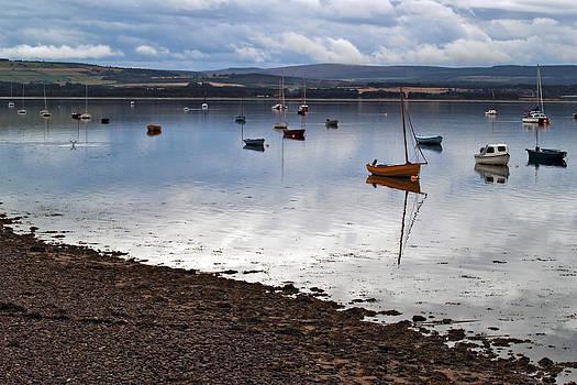 The Findhorn Estuary by Steve Watson
