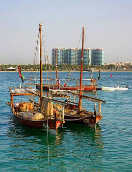 The Fishing Boats by Farah Faizal