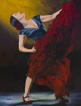 The Flamenco Dancer by Aaron Acker